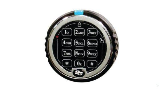 Chubbsafes® DuoGuard 110 EL Tűzálló Páncélszekrény - Elektromos zárszerkezettel