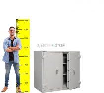 Chubbsafes® Duplex 450 KL Tűzálló biztonsági iratszekrény
