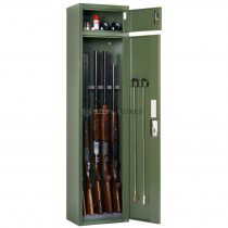 Artemisz® Minőségi fegyverszekrény elektronikus számzárral - 5db vadászfegyver tárolására
