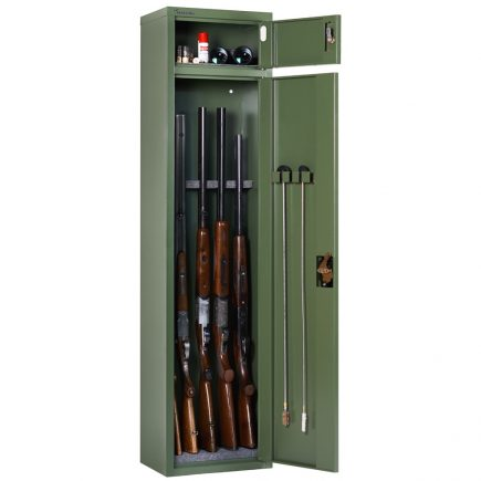 Artemisz® Minőségi fegyverszekrény - 5db vadászfegyver tárolására