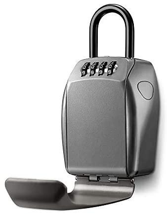 Master Lock® Hordozható kulcstároló mini széf - Megnövelt tárolókapacitás, megerősített kivitel
