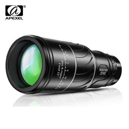 Apexel® 16x52 mini optikai távcső