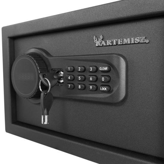 Artemisz® 200 Bútorszéf LCD LED kijelzővel