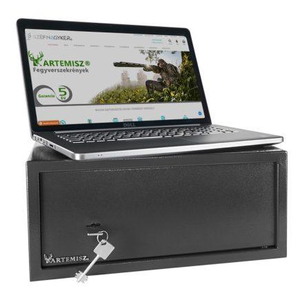 Artemisz® LAPTOP minősített széf kulcsos zárszerkezettel