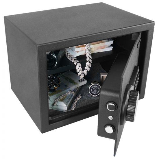 Artemisz® 250 Bútorszéf LCD LED kijelzővel