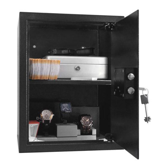 Artemisz® 400 BIG PLUS minősített széf kulcsos zárszerkezettel
