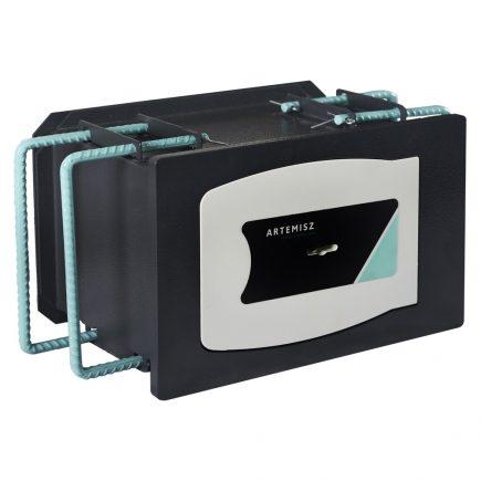 ARTEMISZ® W6 Újgenerációs Extra erősített faliszéf - Kulcsos zárral