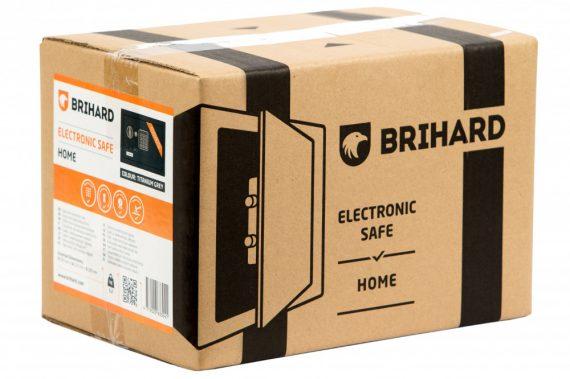 Brihard® Bussines Széf elektromos zárral