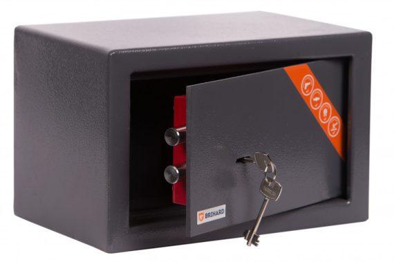 Brihard® Home Széf kulcsos zárral