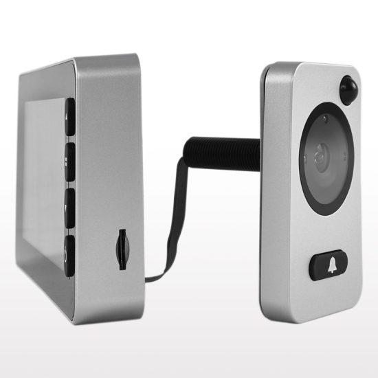Artemisz® DDV 7050 Digitális ajtókitekintő mozgásérzékelővel