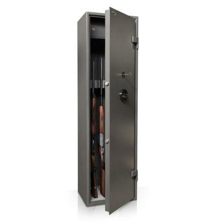 Safety 5 puska tárolására alkalmas fegyverszekrény