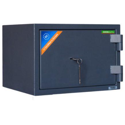 Kronberg®ProFire30 tűzálló páncélszekrény kulcsos zárral