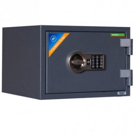 Kronberg® ProFire30 tűzálló páncélszekrény elektronikus zárral