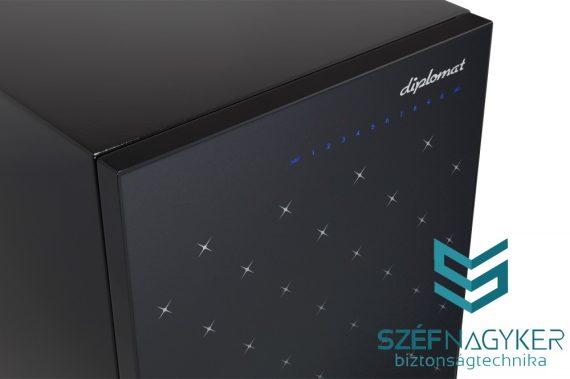 Istella S500 Black Újgenerációs Exkluzív széf