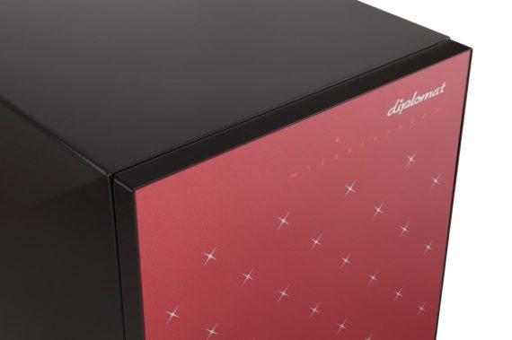 Istella S500 Red Újgenerációs Exkluzív széf