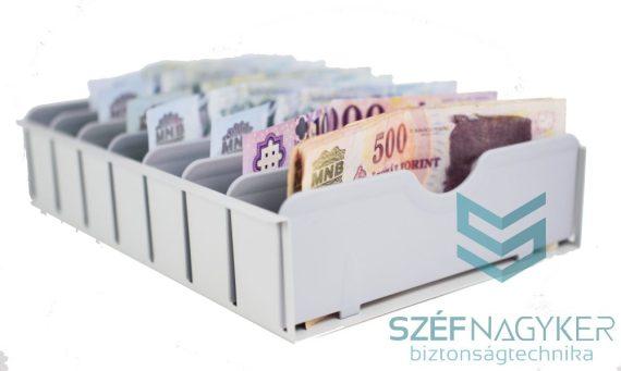 Betétlapos bankjegy tároló (KBL)