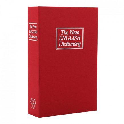 Rottner®Bookcase könyv alakú értékkazetta kulcsos zárral