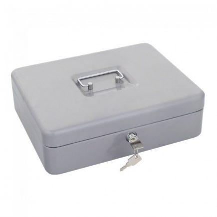 Rottner®HomestarCash euro pénzkazetta kulcsos zárral ezüst színben