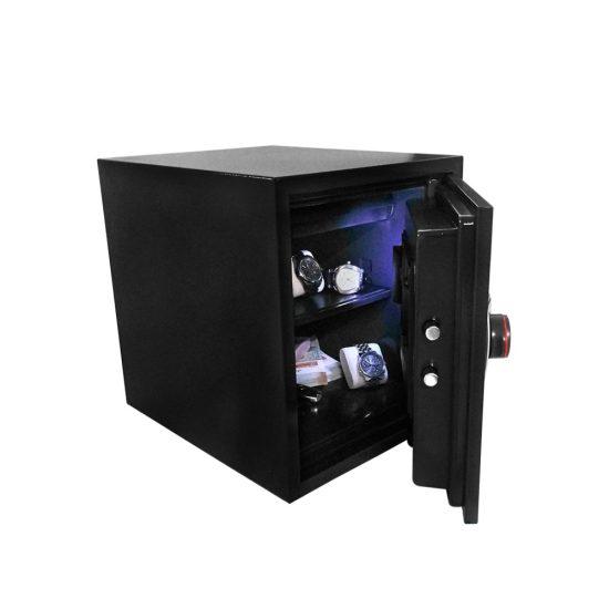 Diplomat 125EB Széf Elektromos Zárral LED világítással - 60 Perces Tűzállósággal