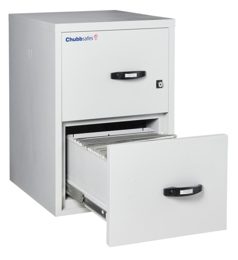 Chubbsafe 2 fiókos tűzálló függőmappa tároló szekrény